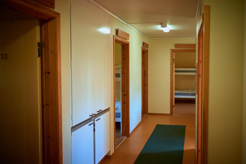 Visar hur korridoren ser ut på Sunnerbogården