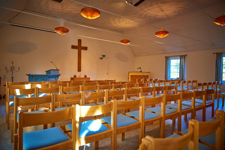 Visar kapellet på Sunnerbogården