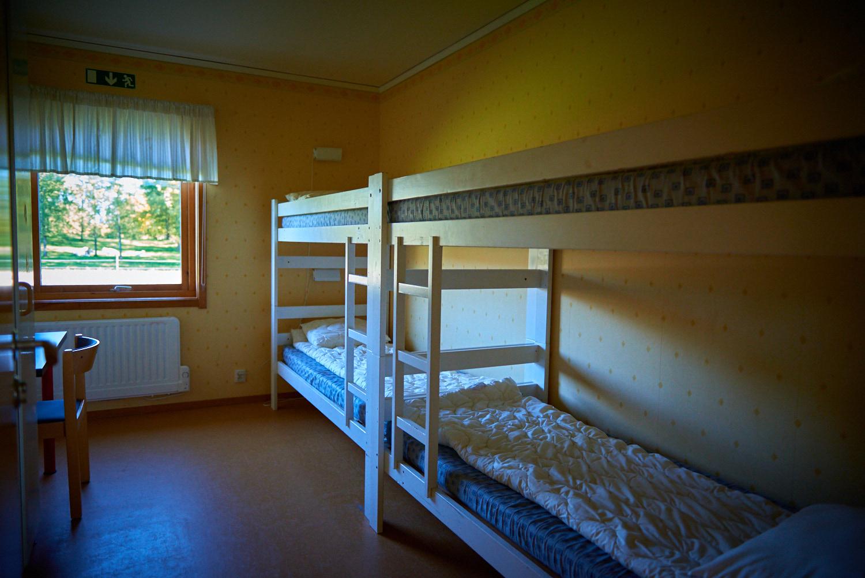 Visar hur rummen ser ut på Sunnerbogården